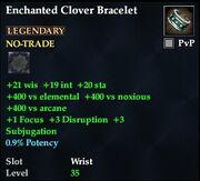 Enchanted Clover Bracelet