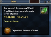 Encrusted Essence of Earth