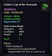 Guide's Cap of the Serenade