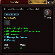 Lizard Scale Martial Bracelet
