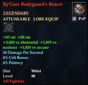 Ry'Gorr Bodyguard's Bracer