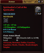 Spiritualist's Coif of the Spiritcaller