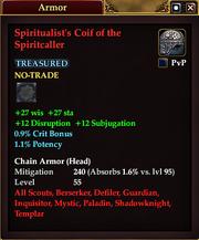 Spiritualist's Coif of the Spiritcaller