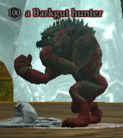 A Barkgut hunter