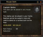 Captain Varlos - Replica