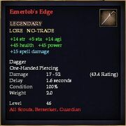 Eznertob's Edge
