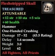 Fleshstripped Skull