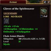 Gloves of the Spiritweaver