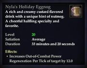 Nyla's Holiday Eggnog