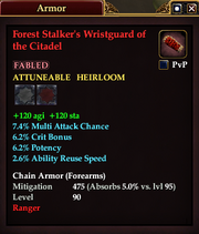 Forest Stalker's Wristguard of the Citadel
