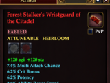 Forest Stalker's Wristguard of the Citadel