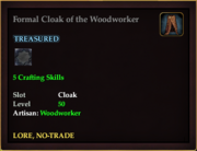 Formal Cloak of the Woodworker