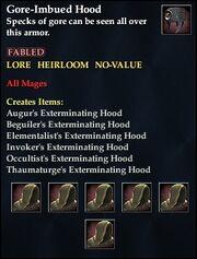 Gore-Imbued Hood