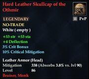 Hard Leather Skullcap of the Othmir