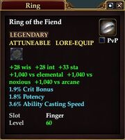 Ring of the Fiend