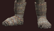Seer's Rustic Chain Boots (Equipped)