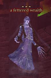 A fettered wraith