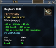 Bugluk's Belt