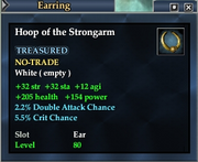 Hoop of the Strongarm