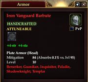 Iron Vanguard Barbute