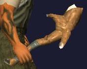 Muddite Limb of Beating (equipped)