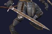 Pristine Imbued Blackened Iron Long Sword