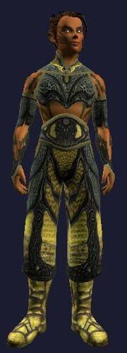Sathirian Manslayer Leather Gi (Visible, Male)