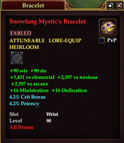 Snowfang Mystic's Bracelet
