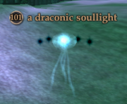 A draconic soullight