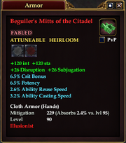 Beguiler's Mitts of the Citadel
