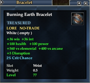 Burning Earth Bracelet