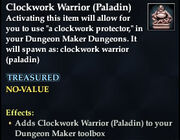 Clockwork Warrior (Paladin)