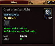 Crest of Amber Sight