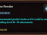 Frozen Powder
