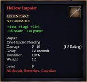 Hollow Impaler