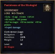 Pantaloons of the Strategist