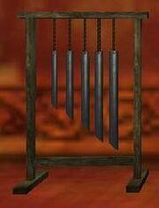 Pristine halfling hanging chimes (Visible)