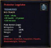 Protector Legplates