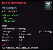 Rod of Abacination
