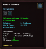 Wand of the Onset