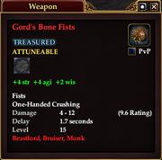Gord's Bone Fists