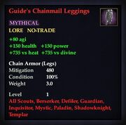 Guide's Chainmail Leggings