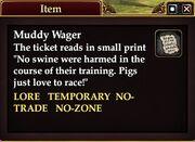 Muddy Wager