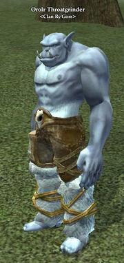 Orolr Throatginder