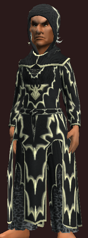 Robe of the Black Wind (Equipped)