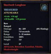 Steelweb Longbow