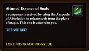Attuned Essence of Souls