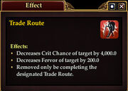 Effect traderoute