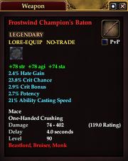 Frostwind Champion's Baton