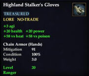 Highland Stalker's Gloves